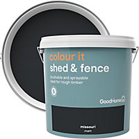 GoodHome Colour it Missouri Matt Fence & shed Stain, 9L