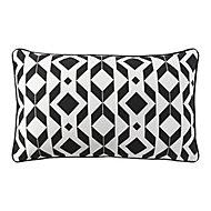 Madang Graphic Black Cushion