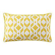 Madang Graphic Yellow Cushion