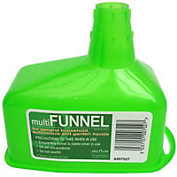 Active Green Plastic Funnel