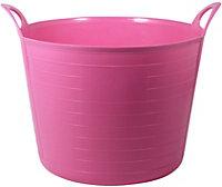 Large Pink Flexi tub