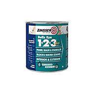 Zinsser Bulls Eye 1-2-3 White Multi-surface Primer, sealant & stain block, 1L