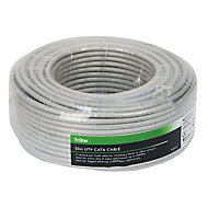 Tristar Cat 6 Grey Cable, 50m