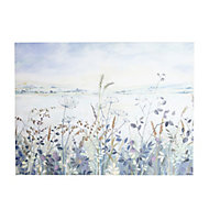 Meadow Multicolour Canvas art (H)570mm (W)770mm