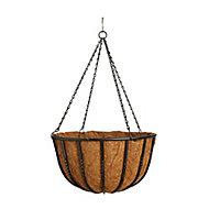 Gardman Wrought iron Hanging basket (D)40.64cm