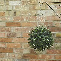 Smart Garden White flower Artificial topiary Ball