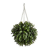 Smart Garden White flower Artificial topiary Ball