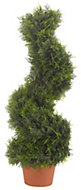 Smart Garden Cypress effect Spiral artificial topiary tree 300 mm