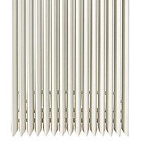 Jaga Iguana Aplano Vertical Designer radiator White (H)1800 mm (W)410 mm
