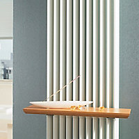 Jaga Beech effect Radiator Shelf (L)400mm (D)261mm