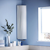 Jaga Iguana Circo Vertical Radiator White (H)1800 mm (W)270 mm