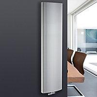 Jaga Iguana Arco Vertical Designer radiator White (H)1800 mm (W)410 mm
