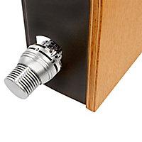 Jaga Knockonwood Horizontal Wooden cased radiator Beech veneer (H)550 mm (W)1000 mm