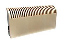 Jaga Knockonwood Horizontal Wooden cased radiator Maple veneer (H)300 mm (W)600 mm