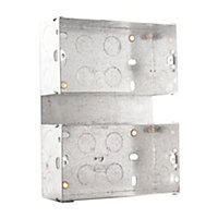 British General Steel Double Mounting box