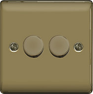 British General 2 way Double Nickel effect Dimmer switch