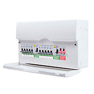 British General 100A 10 way Enclosure consumer unit Consumer unit