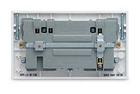 British General White Double USB socket, 2 x 3.1A USB