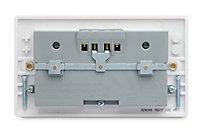 British General White Double USB socket, 4 x 2.1A USB