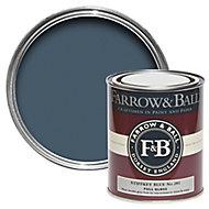 Farrow & Ball Stiffkey blue No.281 Gloss Metal & wood paint, 0.75L