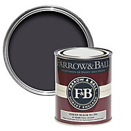 Farrow & Ball Paean black No.294 Gloss Metal & wood paint, 0.75L