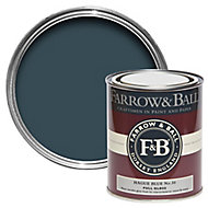 Farrow & Ball Hague blue No.30 Gloss Metal & wood paint, 0.75L