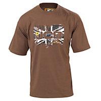 JCB Heritage Beige T-shirt Large