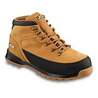 JCB 3CX Honey Safety boots, Size 11