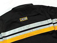 JCB Black Coverall Medium
