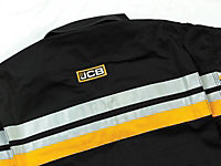 JCB Black Coverall Medium