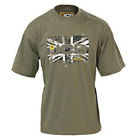 JCB Heritage Green T-shirt XX Large
