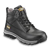 JCBWorkmaxBlackSafety boots, Size 13