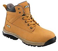 JCBWorkmaxHoneySafety boots, Size 6