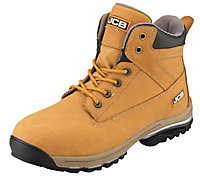 JCB Workmax Honey Safety boots, Size 7