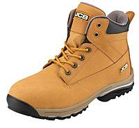 JCBWorkmaxHoneySafety boots, Size 8