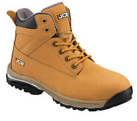 JCB Workmax Honey Safety boots, Size 9