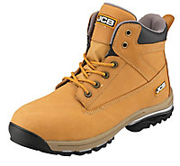 JCB Workmax Honey Safety boots, Size 12