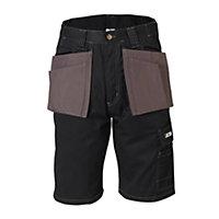 "JCB Keele Black Shorts W40"""