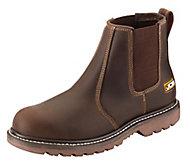 JCB Tan Agmaster Pro Dealer Dealer boots, Size 12