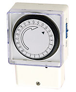 B&Q 24 hour Mechanical immersion Timer