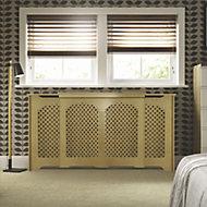 Cambridge Adjustable Medium - Large Oak veneer Radiator cover