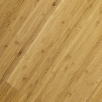 Colours Pandero Natural Rustic effect Bamboo Solid wood flooring, 1.73m² Pack