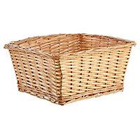 Wicker Storage basket (H)215mm (W)420mm