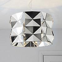 Ciara Chrome effect Pendant Ceiling light