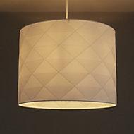 Colours Chrysta White Origami Light shade (D)400mm