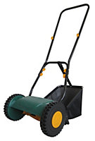 B&Q FPHM302 Hand-propelled Lightweight hand push lawnmower