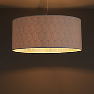 Colours Indio White Droplet inner pattern Light shade (D)400mm