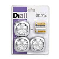 Diall Battery-powered LED Work light 1.5V 10lm