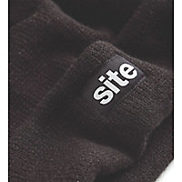 Site Black Non safety hat One size