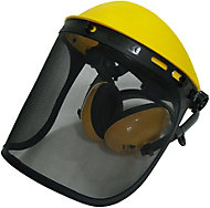 Site Yellow ABS plastic Face shield & guard